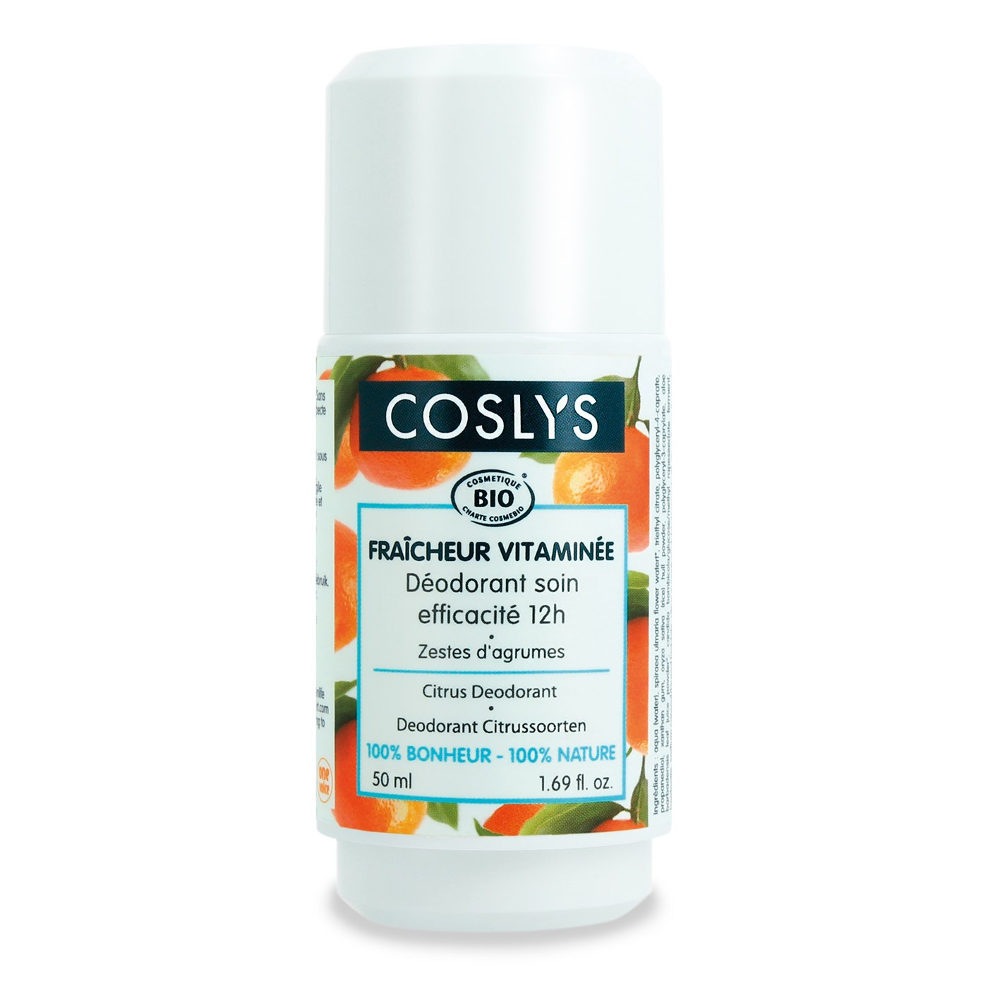 Coslys Desodorante de Naranja Dulce Bio 50ml