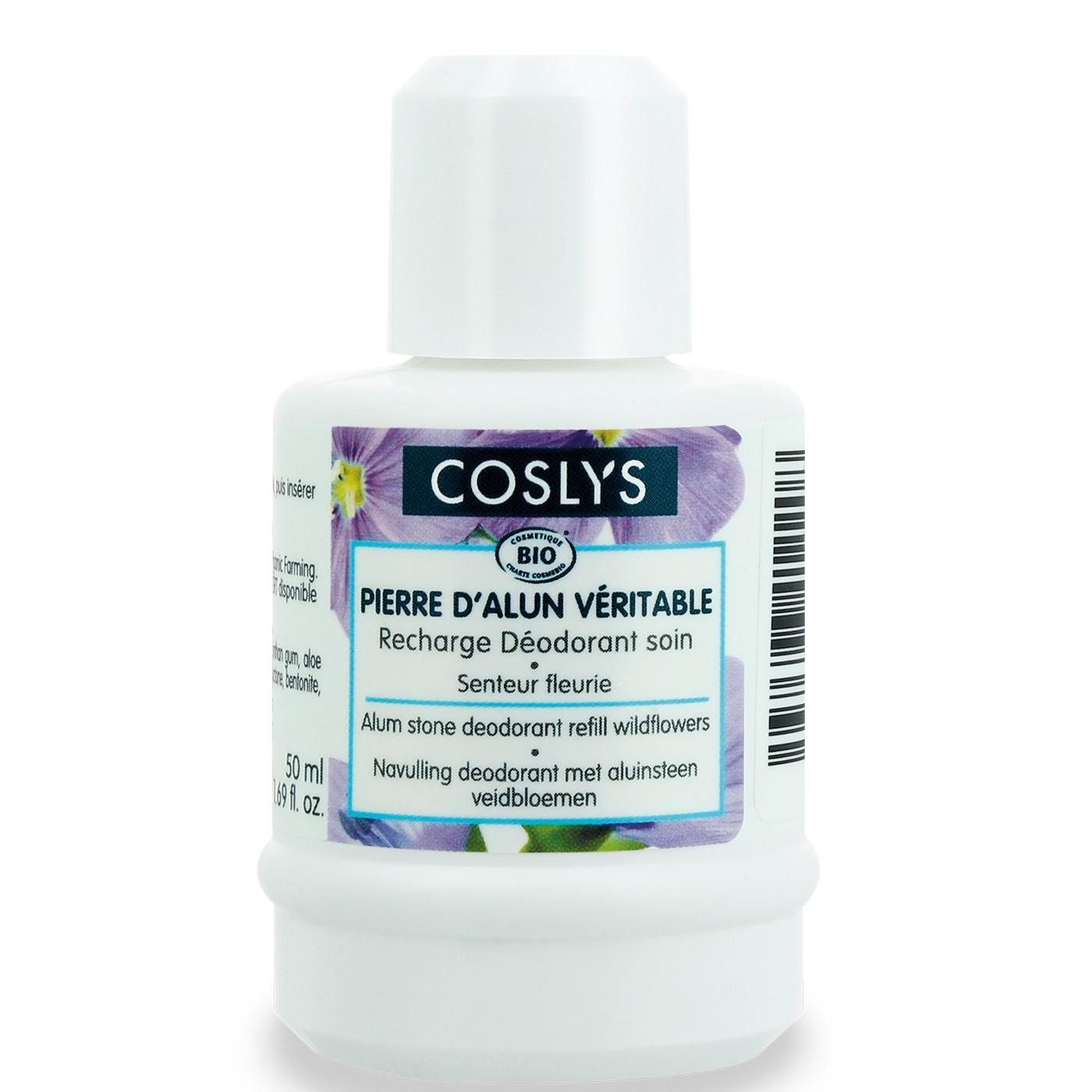 Coslys Recambio Desodorante Flores Silvestres 50ml.