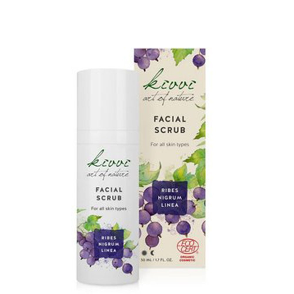 Kivvi Ribes Nigrum Exfoliante facial suave piel normal-seca 50ml