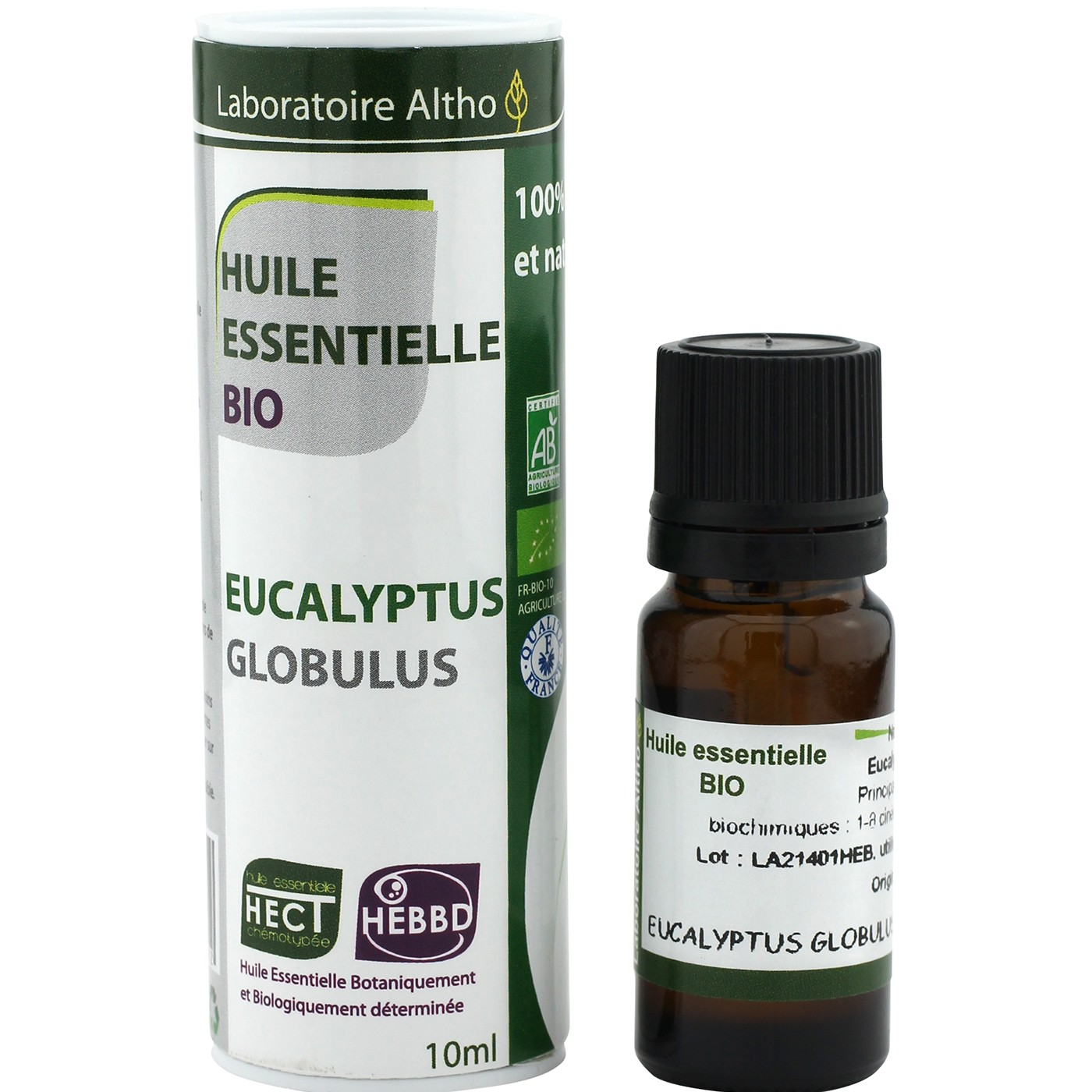 Laboratoire Altho Aceite esencial de eucalipto BIO 10ml