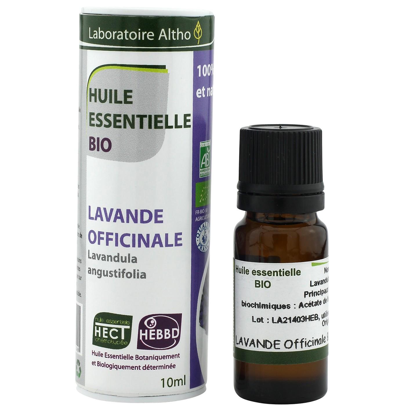 Laboratoire Altho Aceite esencial de lavanda BIO 10ml