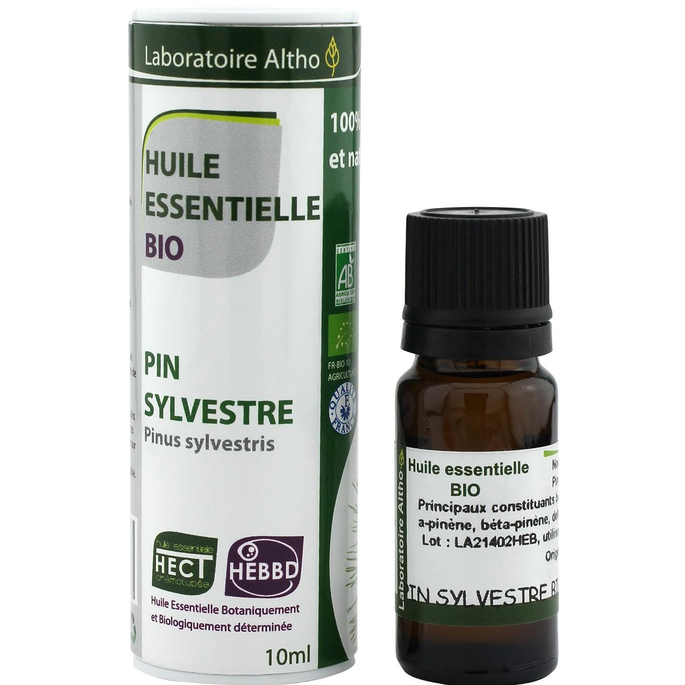 Laboratoire Altho Aceite esencial de pino silvestre BIO 10ml