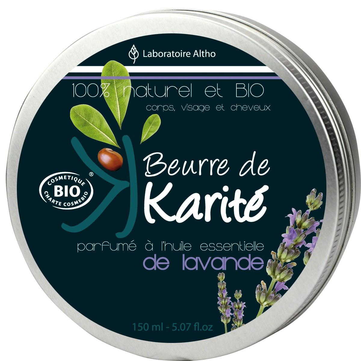 Altho Manteca de Karité BIO con Lavanda 150ml