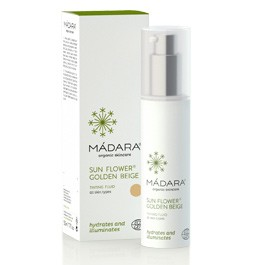 Mádara Crema de Día con Color SunFlower Tinted  Moiturizer 50ML.