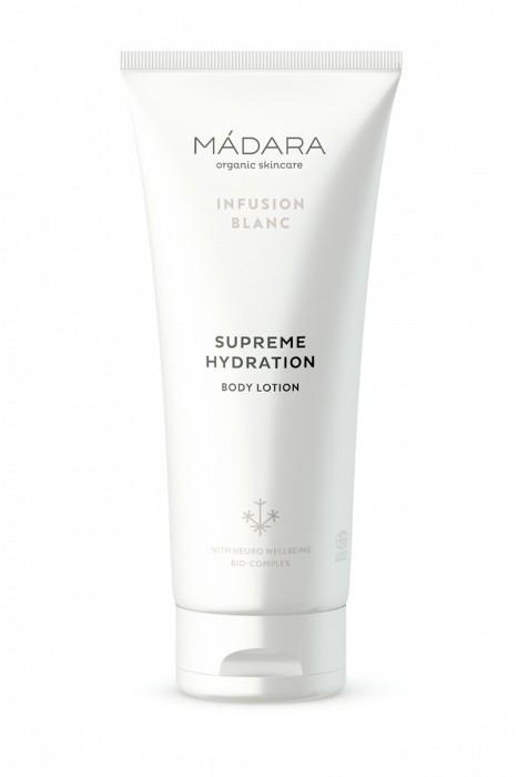 Loción corporal Supreme hydration Infusion Blanc 200ml MÁDARA