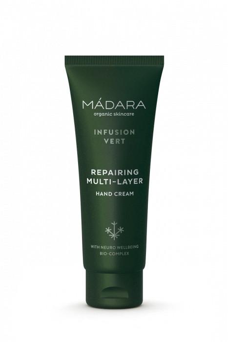 Crema de manos protectora antioxidante Infusion Vert 75ml MÁDARA