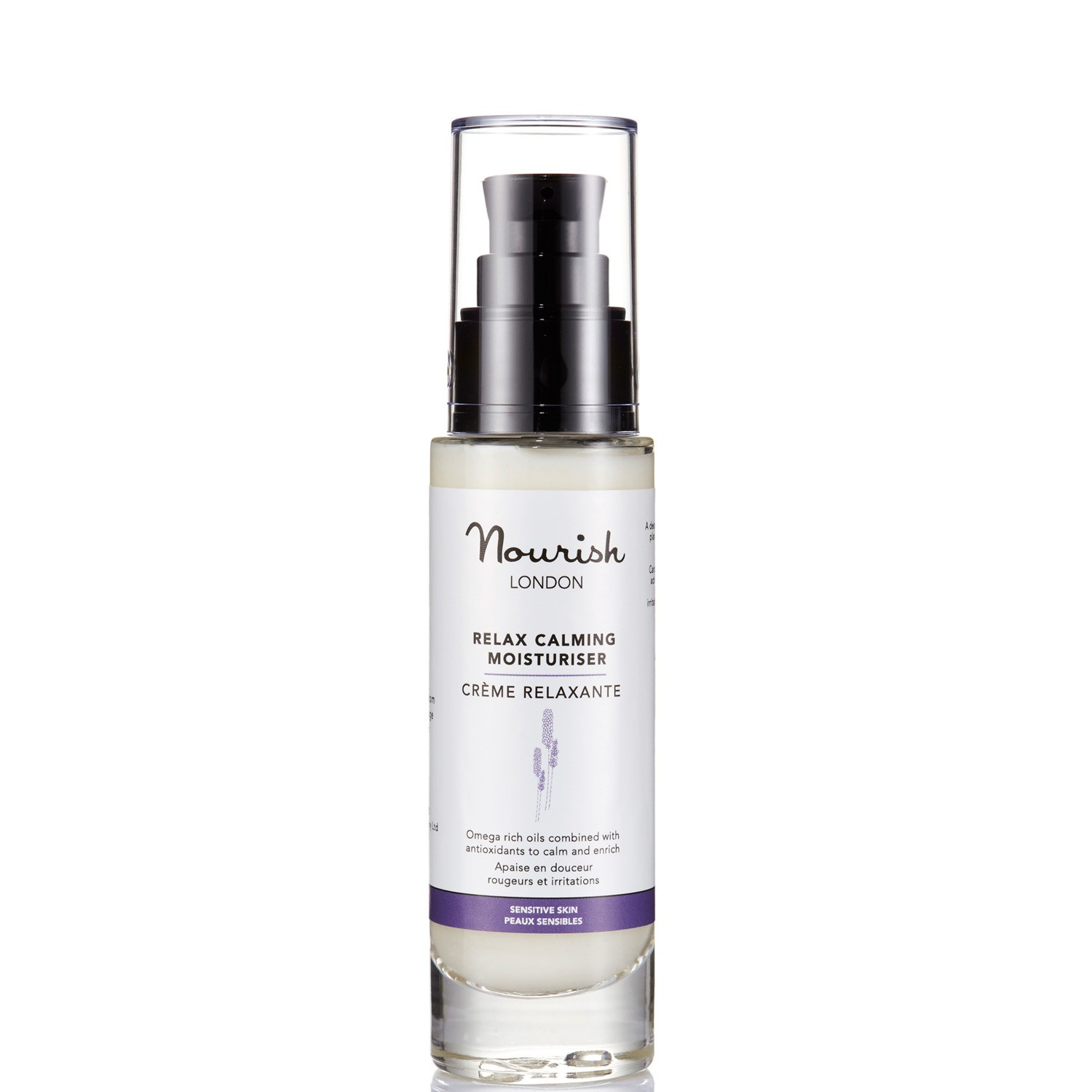 Nourish Crema Calmante Relax Piel Sensible 50ml