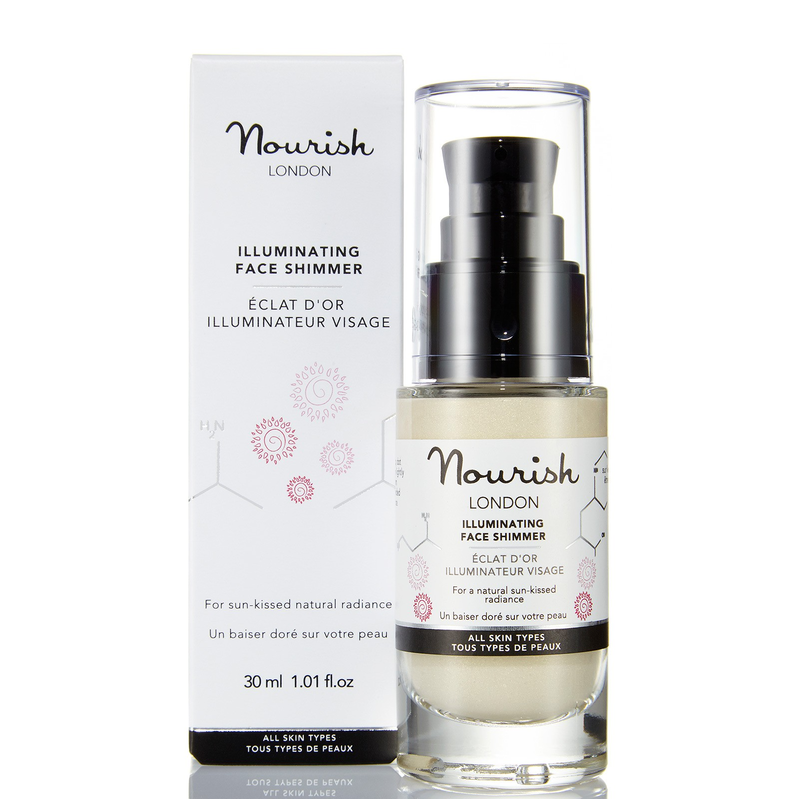 Nourish  Aceite Iluminador Reafirmante Radiance 15ml
