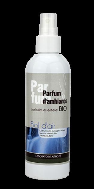 Perfume de Ambiente y Tejidos Aire Puro (Bol d'Air) de Altho 200ml