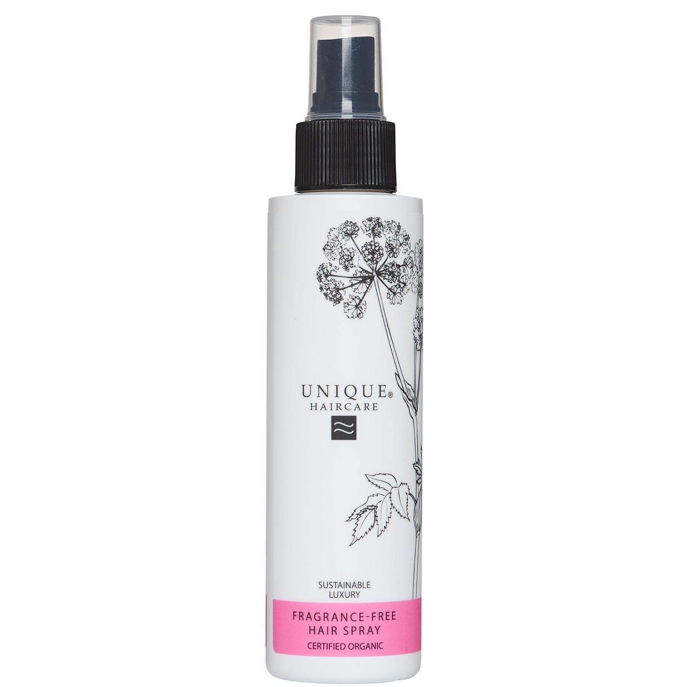 Unique Laca Capilar Sin Perfume Certificada Orgánico 150ml