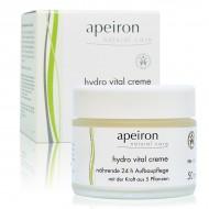 Apeiron Crema Hidratante Vital 24 horas 50ml.