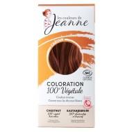Tinte Vegetal Castaño de Couleurs de Jeanne
