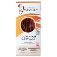 Tinte Vegetal Castaño Oscuro de Couleurs de Jeanne