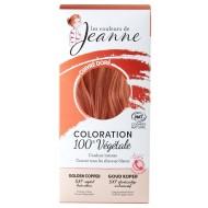 Tinte Vegetal Cobre Dorado de Couleurs de Jeanne