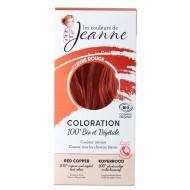 Tinte Vegetal Cobre Intenso de Couleurs de Jeanne